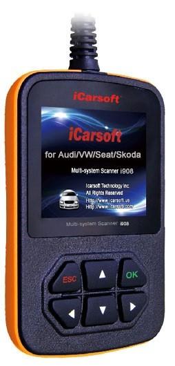 iCarsoft i908 - für VAG-Fahrzeuge