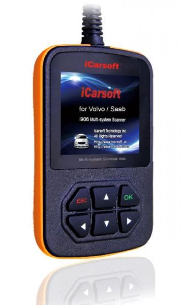 iCarsoft VOL V.1.0 für Volvo & Saab-Fahrzeuge
