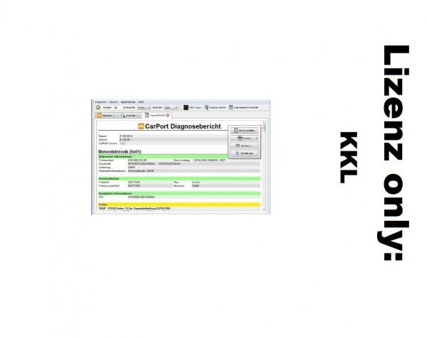 CarPort Lizenz Basis KKL