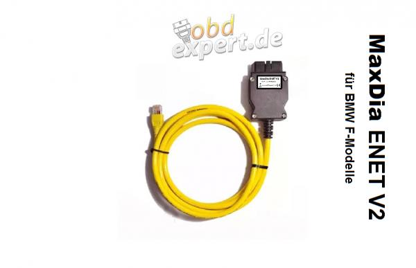 MaxDia ENET V2 - Ethernet Interface für BMW F- und G-Modelle - OHNE SOFTWARE